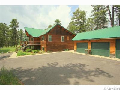 Conifer Single Family Home Under Contract: 23711 Pleasant Park Road