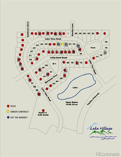 Hayden Residential Lots & Land Active: Lake View Drive