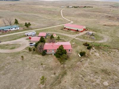 Kiowa Single Family Home Under Contract: 29155 County Road 45