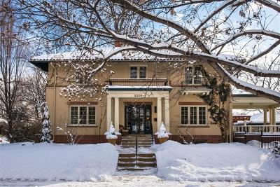 Denver County Single Family Home Under Contract: 3330 East 7th Avenue Parkway