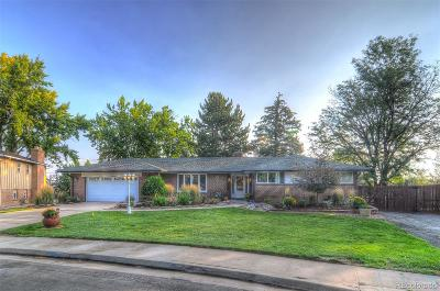 Denver Single Family Home Active: 4102 South Vrain Street