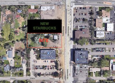Jefferson County Residential Lots & Land Under Contract: 965 Wadsworth Boulevard