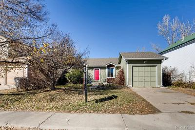 Aurora, Denver Single Family Home Under Contract: 4703 South Pagosa Circle