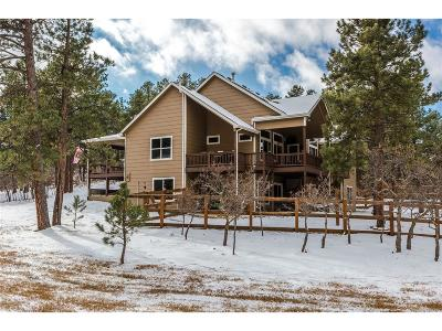 Larkspur CO Single Family Home Under Contract: $649,000