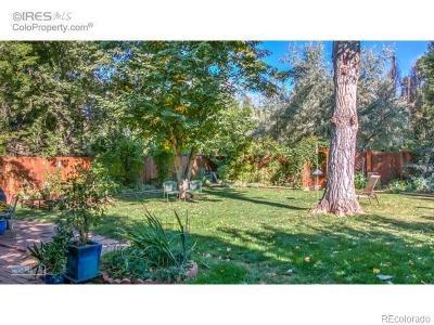 Boulder CO Single Family Home Active: $745,000