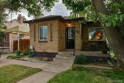 Denver Single Family Home Active: 4675 Lowell Boulevard