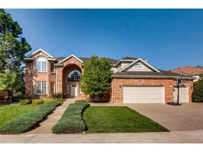 Highlands Ranch Single Family Home Under Contract: 9877 Isabel Court