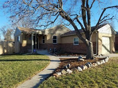 Denver Single Family Home Active: 2890 Hudson Street