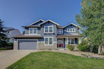 Castle Pines Single Family Home Active: 7415 Winter Berry Lane