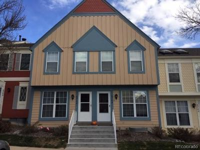 Littleton Condo/Townhouse Under Contract: 6764 South Holland Way
