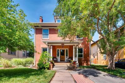 Denver Single Family Home Active: 1755 North High Street