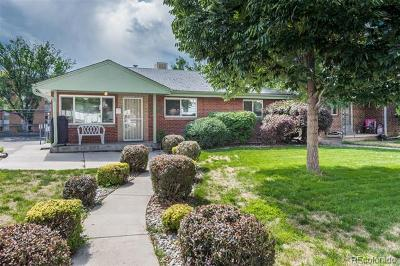 Denver Single Family Home Active: 2525-2527 South University Boulevard