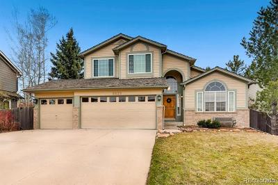 Lone Tree Single Family Home Active: 9829 Cypress Point Circle