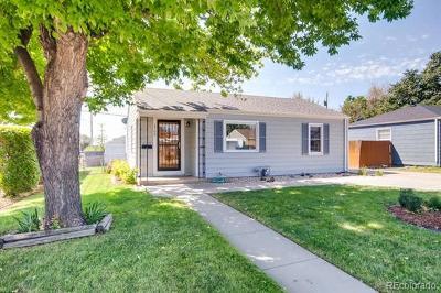 Denver Single Family Home Active: 1700 West 52nd Avenue