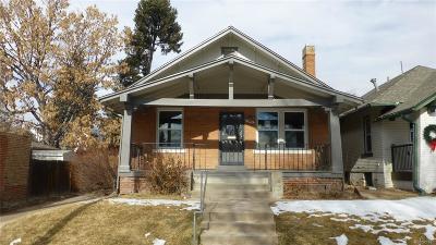 Denver Single Family Home Active: 4627 Batavia Place