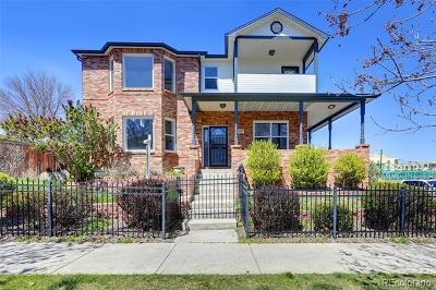 Denver Single Family Home Active: 2607 West 26th Avenue