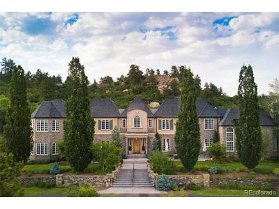 Castle Pines CO Single Family Home Under Contract: $9,000,000