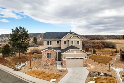 Castle Rock Single Family Home Under Contract: 1788 Holmby Court
