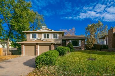 Littleton Single Family Home Active: 7751 West Ottawa Place
