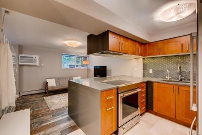 Denver Condo/Townhouse Under Contract: 1833 North Williams Street #108