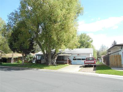Larimer County Single Family Home Active: 1217 Columbine Court
