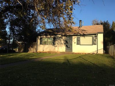 Aurora Single Family Home Active: 1388 Kenton Street