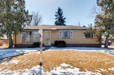 Aurora Single Family Home Under Contract: 9790 East 5th Avenue