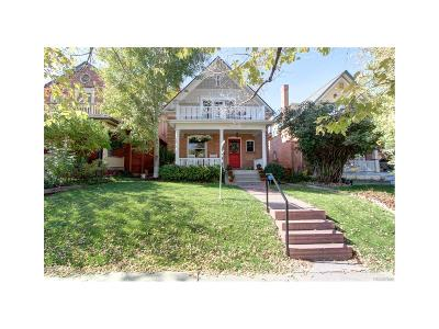 Denver Single Family Home Under Contract: 1055 Clayton Street