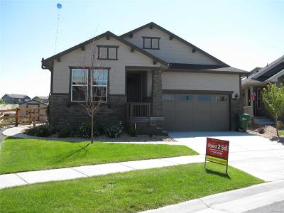 Aurora Single Family Home Active: 7878 South Flat Rock Court