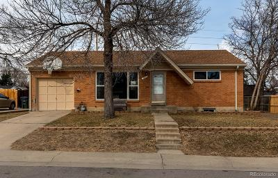 Northglenn Single Family Home Active: 1047 East 111th Place