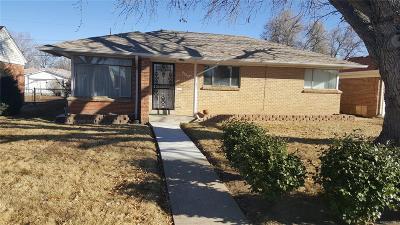 Denver Single Family Home Active: 3356 Locust Street