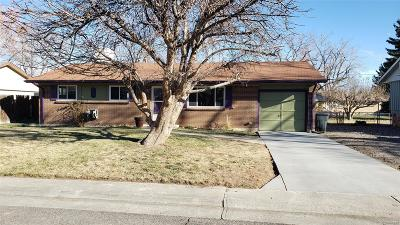 Arvada Single Family Home Under Contract: 8522 Chase Street