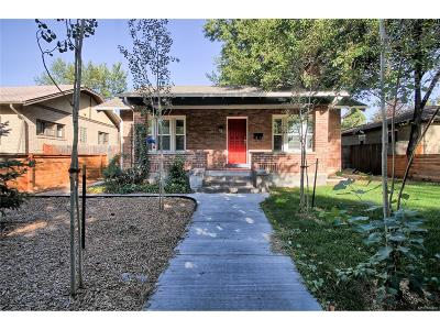 Denver Single Family Home Active: 1234 South University Boulevard