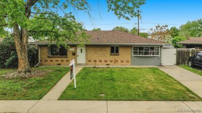 Wheat Ridge Single Family Home Under Contract: 4685 Cody Street