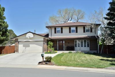 Broomfield Single Family Home Under Contract: 1450 Daphne Street