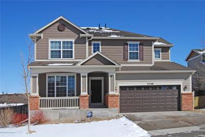 Castle Rock Single Family Home Under Contract: 2360 Fairway Wood Circle