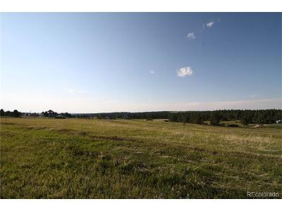 Elizabeth Residential Lots & Land Active: 36200 County Road 1