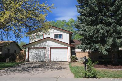 Littleton Single Family Home Active: 7439 South Quay Court