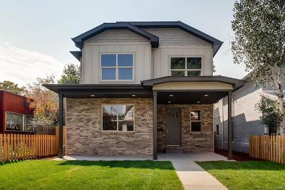 Denver Single Family Home Active: 2533 North Emerson Street