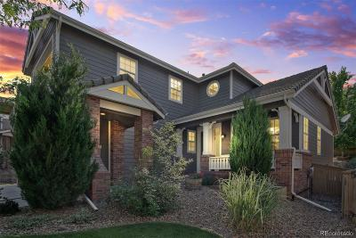 Highlands Ranch Single Family Home Under Contract: 10694 Briarglen Circle