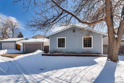 Westminster Single Family Home Under Contract: 9240 Pierce Street