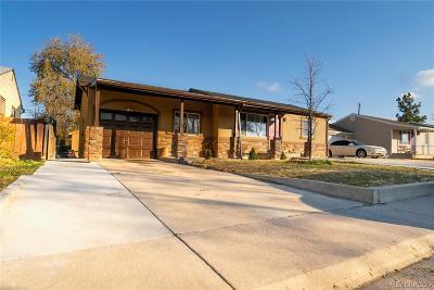 Commerce City Single Family Home Active: 7820 Niagara Street