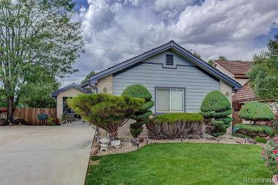 Denver Single Family Home Active: 3285 South Tulare Court