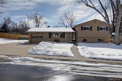 Littleton Single Family Home Under Contract: 6856 South Prince Circle