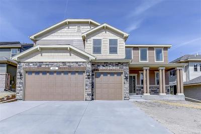 Castle Rock Single Family Home Active: 405 Sage Grouse Circle