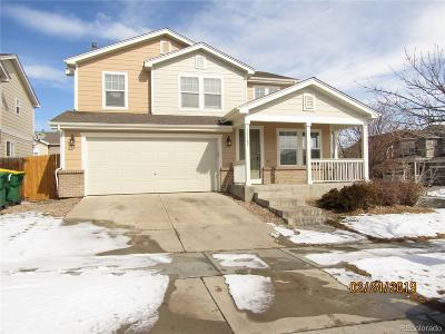Reunion Single Family Home Under Contract: 15387 East 101st Place