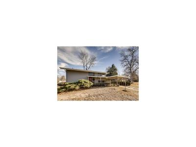 Denver Single Family Home Under Contract: 1370 South Jasmine Way