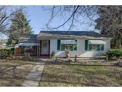 Aurora, Denver Single Family Home Under Contract: 944 Galena Street