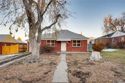 Denver Single Family Home Active: 510 South Dale Court