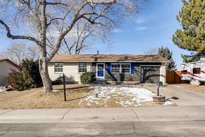 Arvada Single Family Home Under Contract: 7525 Otis Street